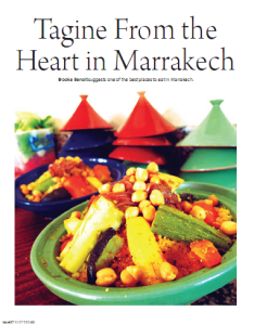Tagine from the heart