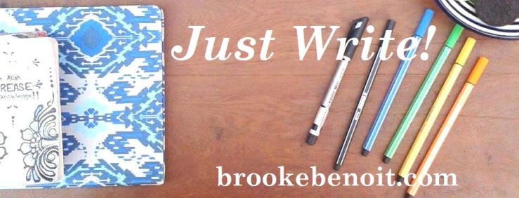 Just Write Banner 1